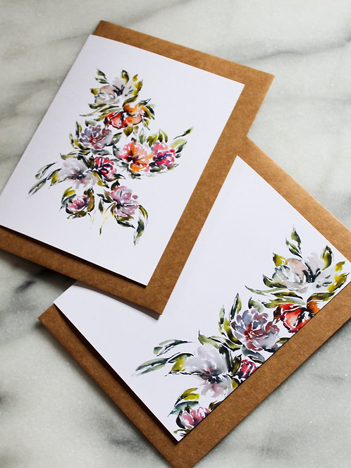 Whimsical Blooms - Card