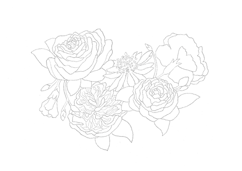 Spring Floral Illustration