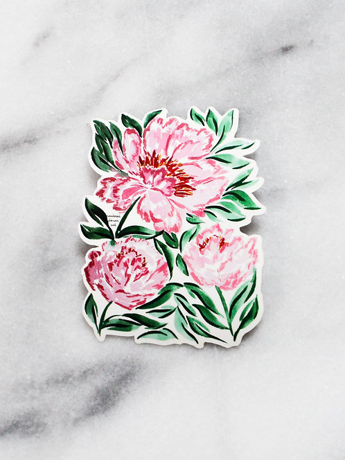Pink & Green - Sticker
