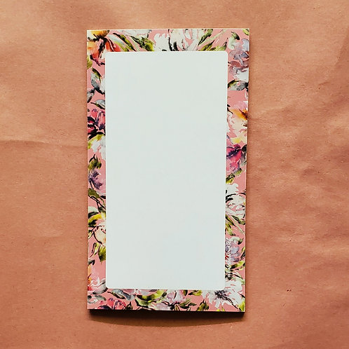 Whimsical Blooms - Notepad