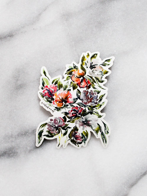Whimsical Blooms - Sticker
