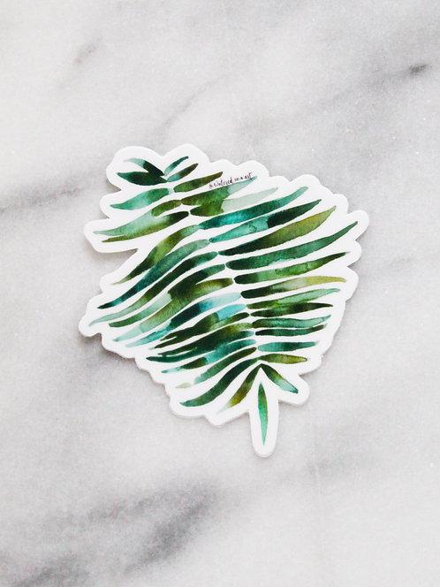 Botanical Leaf - Sticker