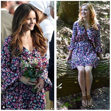 &Other Stories - Floral Wrap Dress