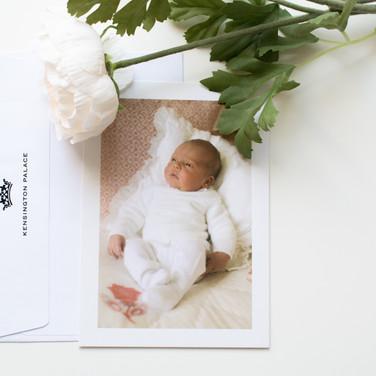 2018 - Prince Louis Birth Card