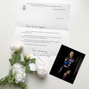 2019 - Lovely Letter (With Photo) From Prince Philip