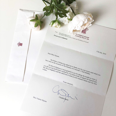 2019 - Camilla's 72nd Birthday Reply from Prince Charles
