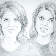 Princess Eugenie & Beatrice