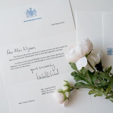2019 - Princess Anne Letter