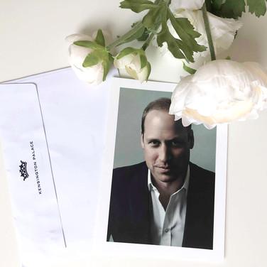 2019 - Prince William's Birthday Reply