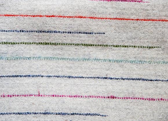 Chalkney Stripe - Grey Wool