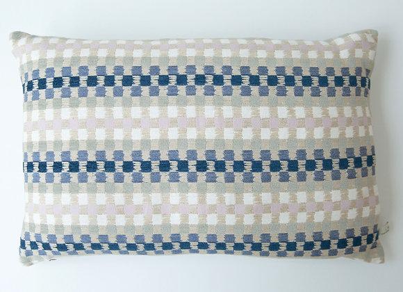 Heather Check - Large Cushion