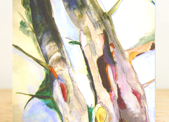 Eucalyptus Tree Greeting Card