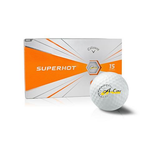 Callaway SuperHot Golf Ball with Logo - 15 pack