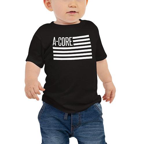 Baby Jersey Short Sleeve Tee Flag Logo