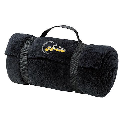 Port & Company Fleece Blanket with Strap