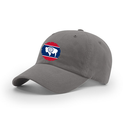 Dad Cap with State Flag Blade Logo