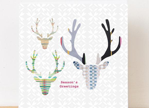 Antlers Christmas Card