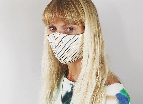 Chalkney Stripe Face Mask