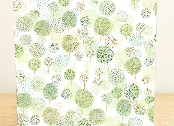 Spring Dandelions Greetings Card