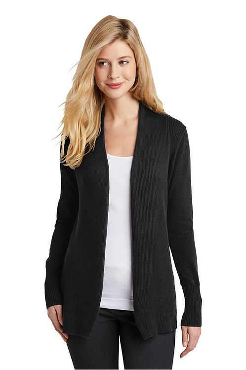 Port Authority Ladies Open Front Cardigan