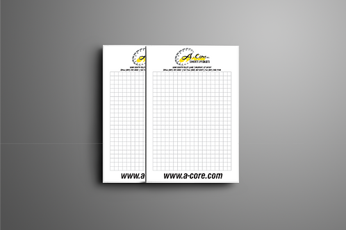 Box of 5x8 Grid Notepads