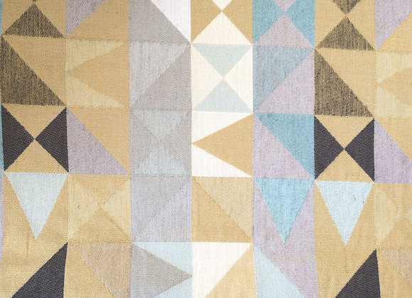Southwold Geo - Mustard Fabric by the metre