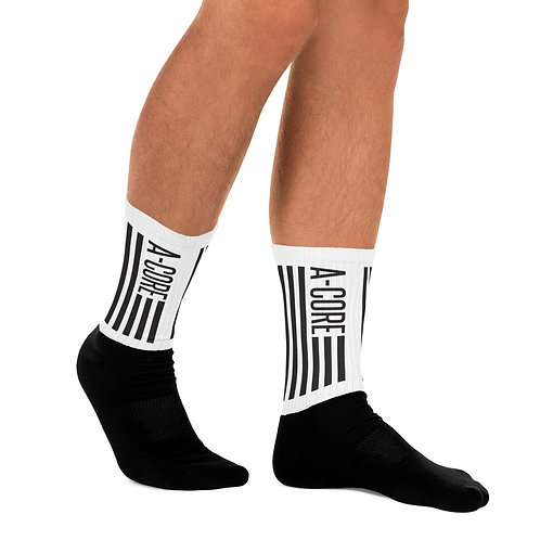 Socks with A-Core Flag