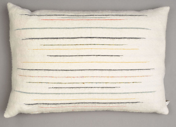 Chalkney Cushion - Large Ecru
