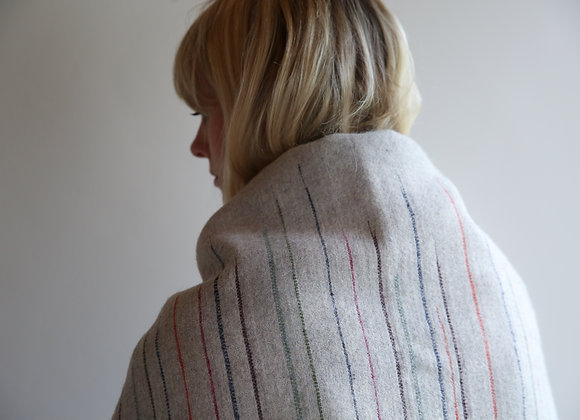 Chalkney Throw - Grey