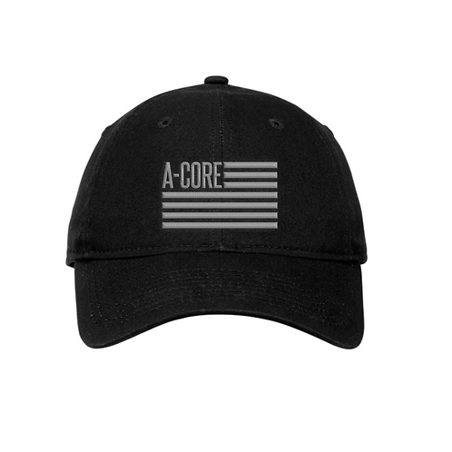 Dad Cap with A-Core Flag Logo