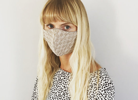 Midhurst Check Face Mask