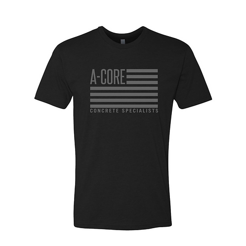 Next Level A-Core Flag T-Shirt
