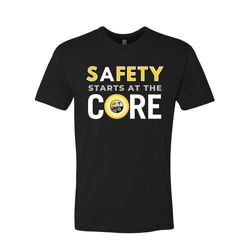 Next Level All Color Safety Logo T-Shirt