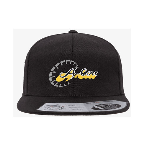 Flat Brim Hat with A-Core Logo