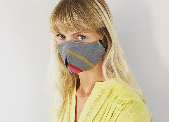 Rye Stripe Face Mask