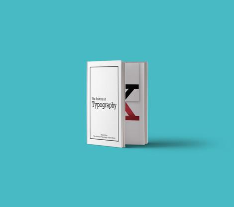 Typography Pop-Up Book