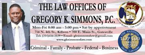 The Law Offices Of Gregory K. Simmons, P.C. - Central Texas Attorney
