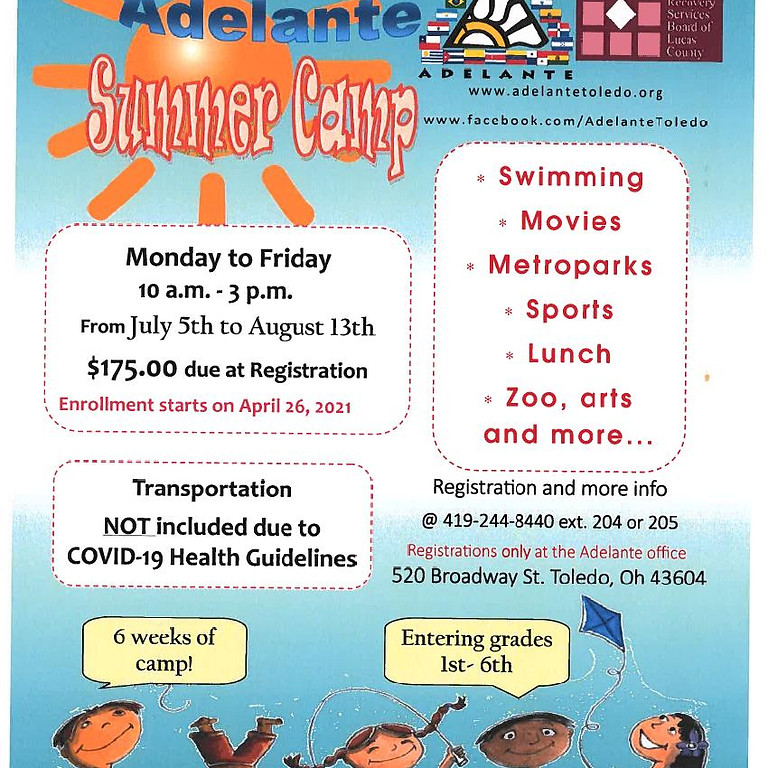 Summer Camp at Adelante