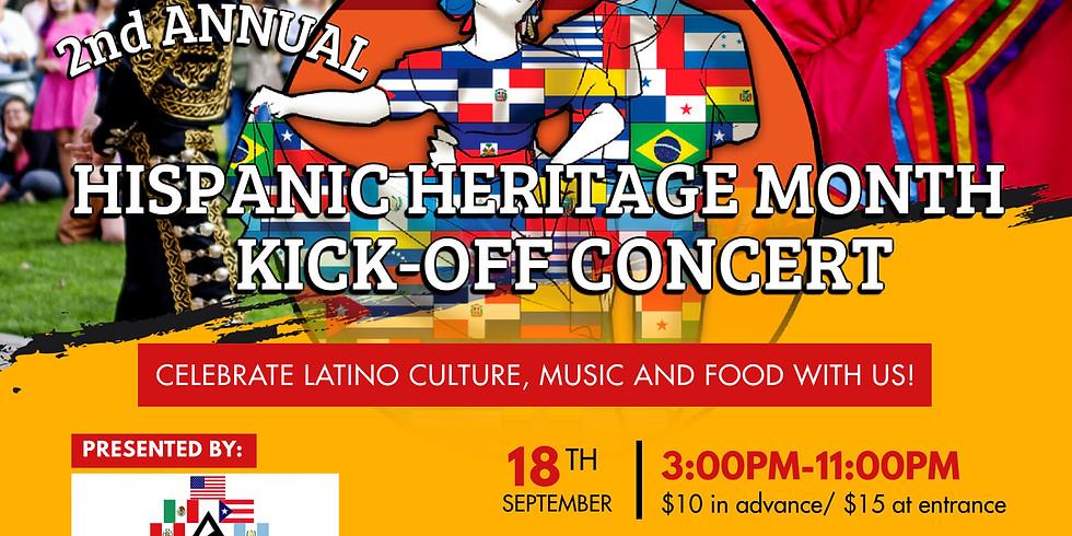2nd Annual Hispanic Heritage Month Kick-Off Concert