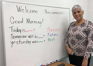 ESL Volunteer Teacher Zoila! 2018.jpg