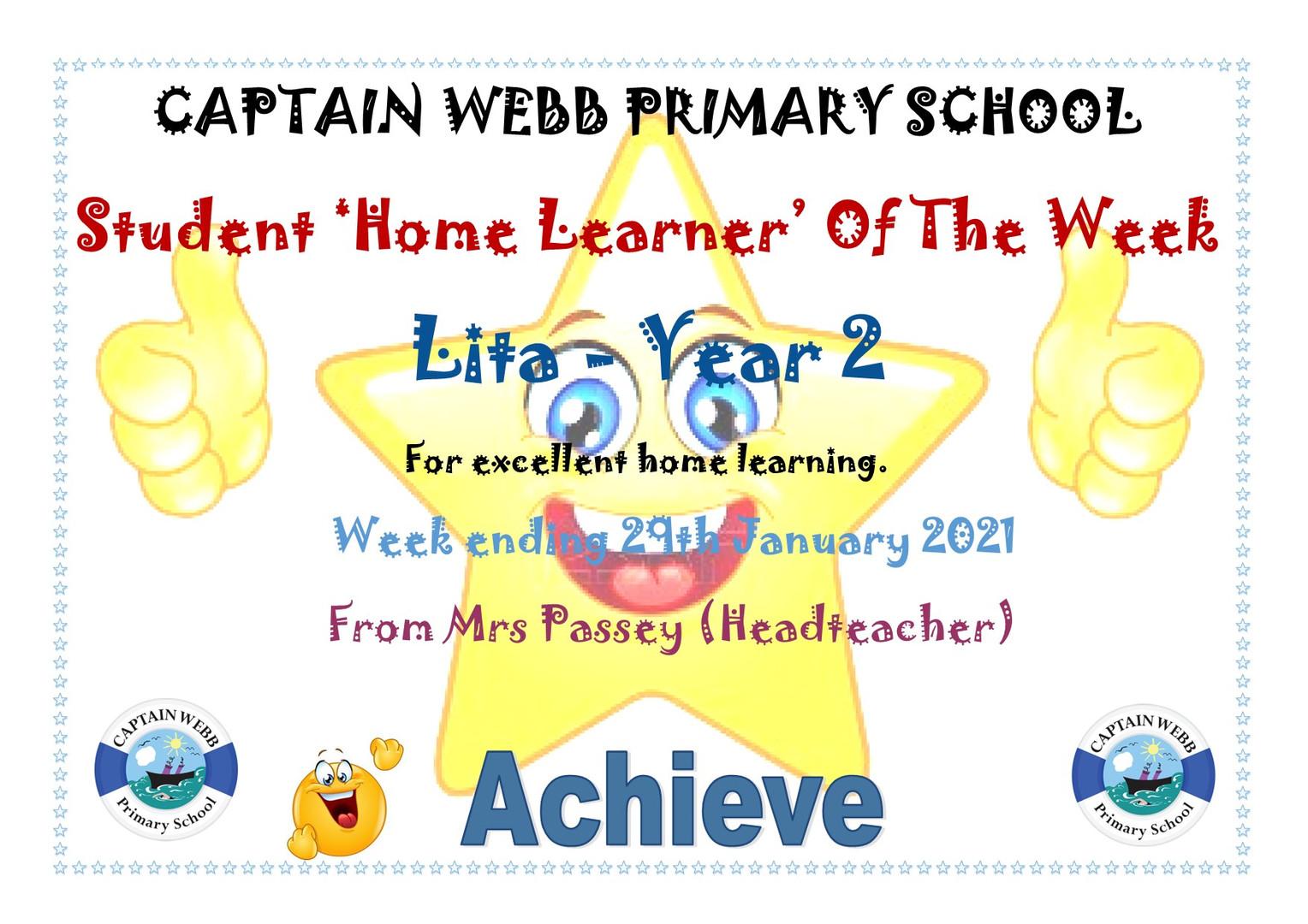 Student home learner of the week Y2.jpg
