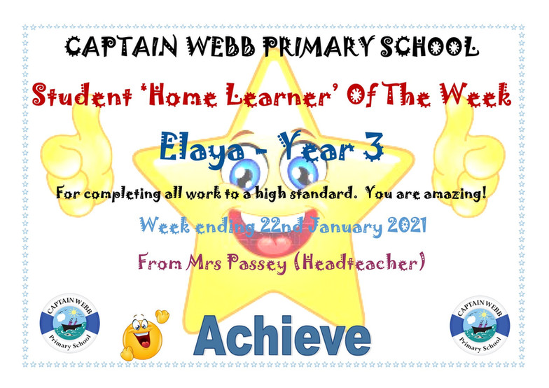 Student home learner of the week Y3.jpg