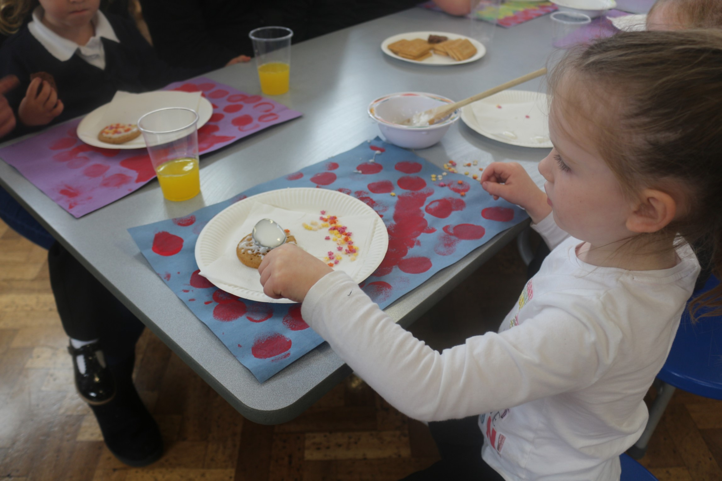Reception Tea Party