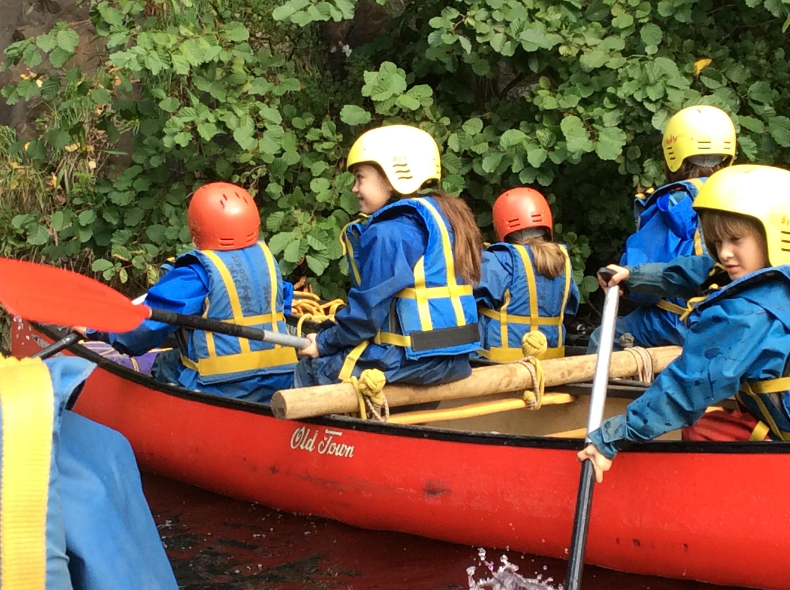 Year 3 Canoeing