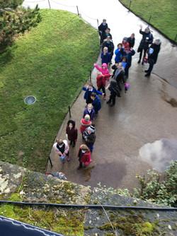 Year 2 Warwick Castle Visit