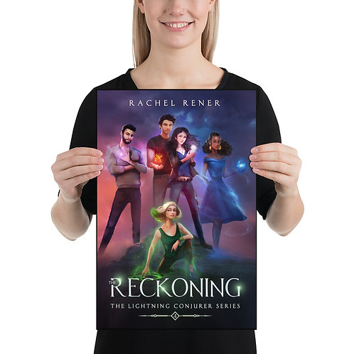 """12 x 18"""" Poster - The Reckoning"""