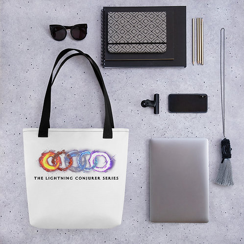 Tote bag - White with Elements