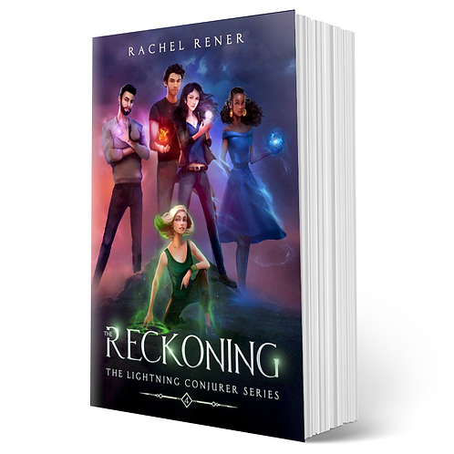 Signed copy of The Reckoning (The Lightning Conjurer #4)