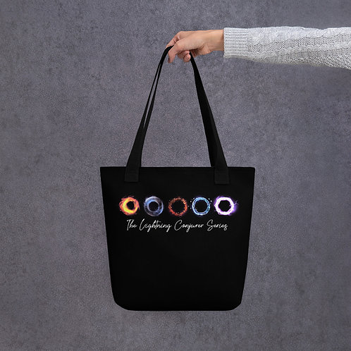 Tote bag - Black, with Elements