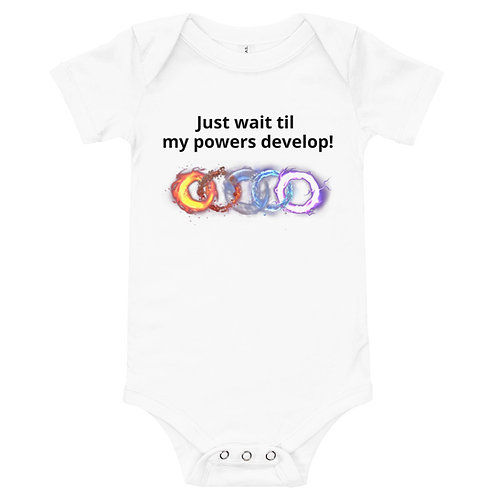 Future Pentamancer Baby One-piece